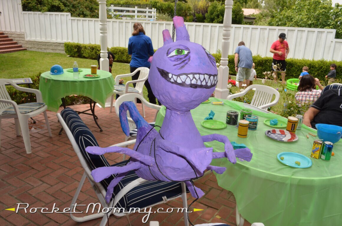 A Monsters Inc Monsters University Birthday Party Rocket Mommy