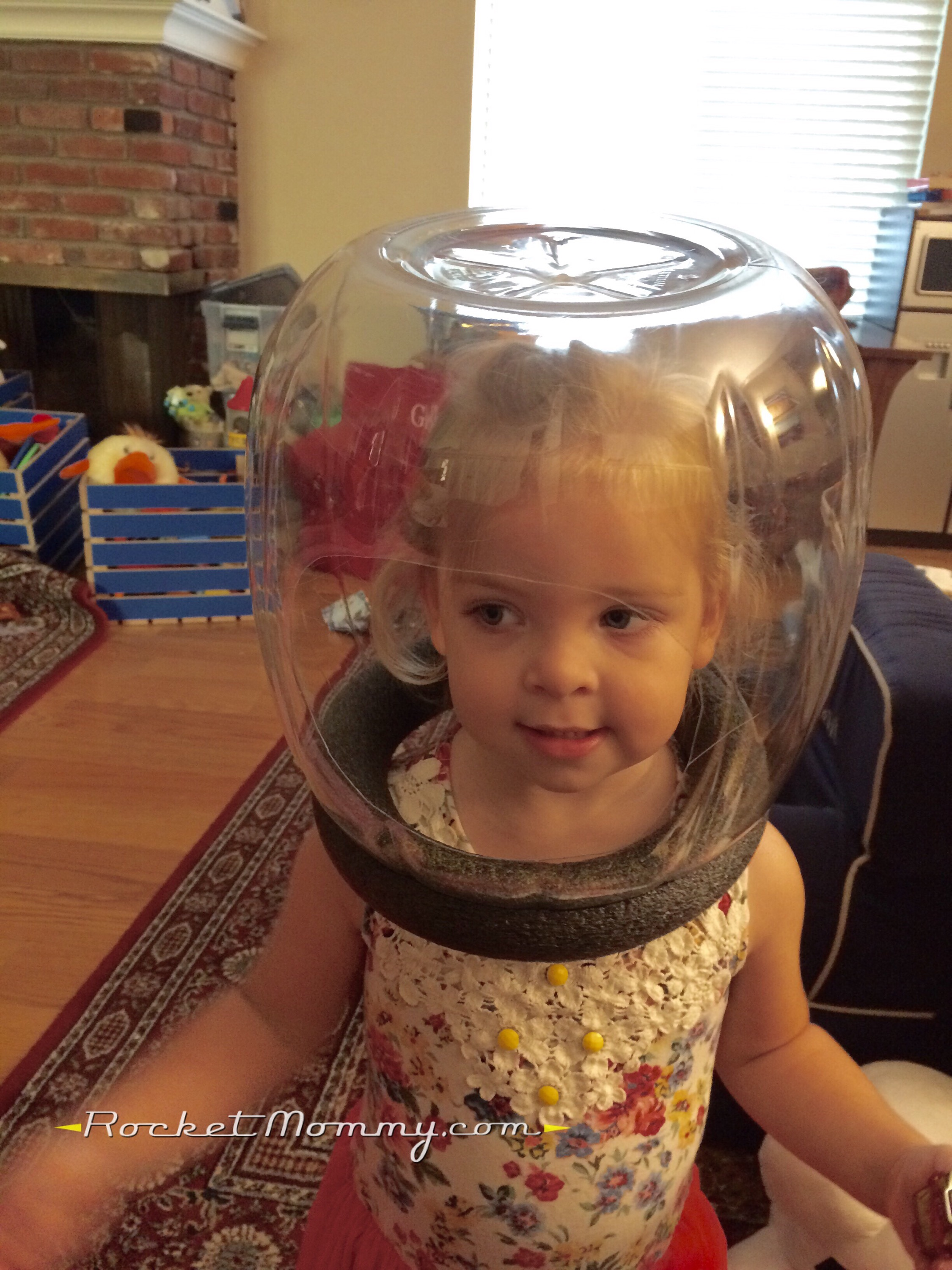 DIY Space Helmet (with Miles From Tomorrowland light-up option!) | Rocket Mommy  sc 1 st  Rocket Mommy & DIY Space Helmet (with Miles From Tomorrowland light-up option ...