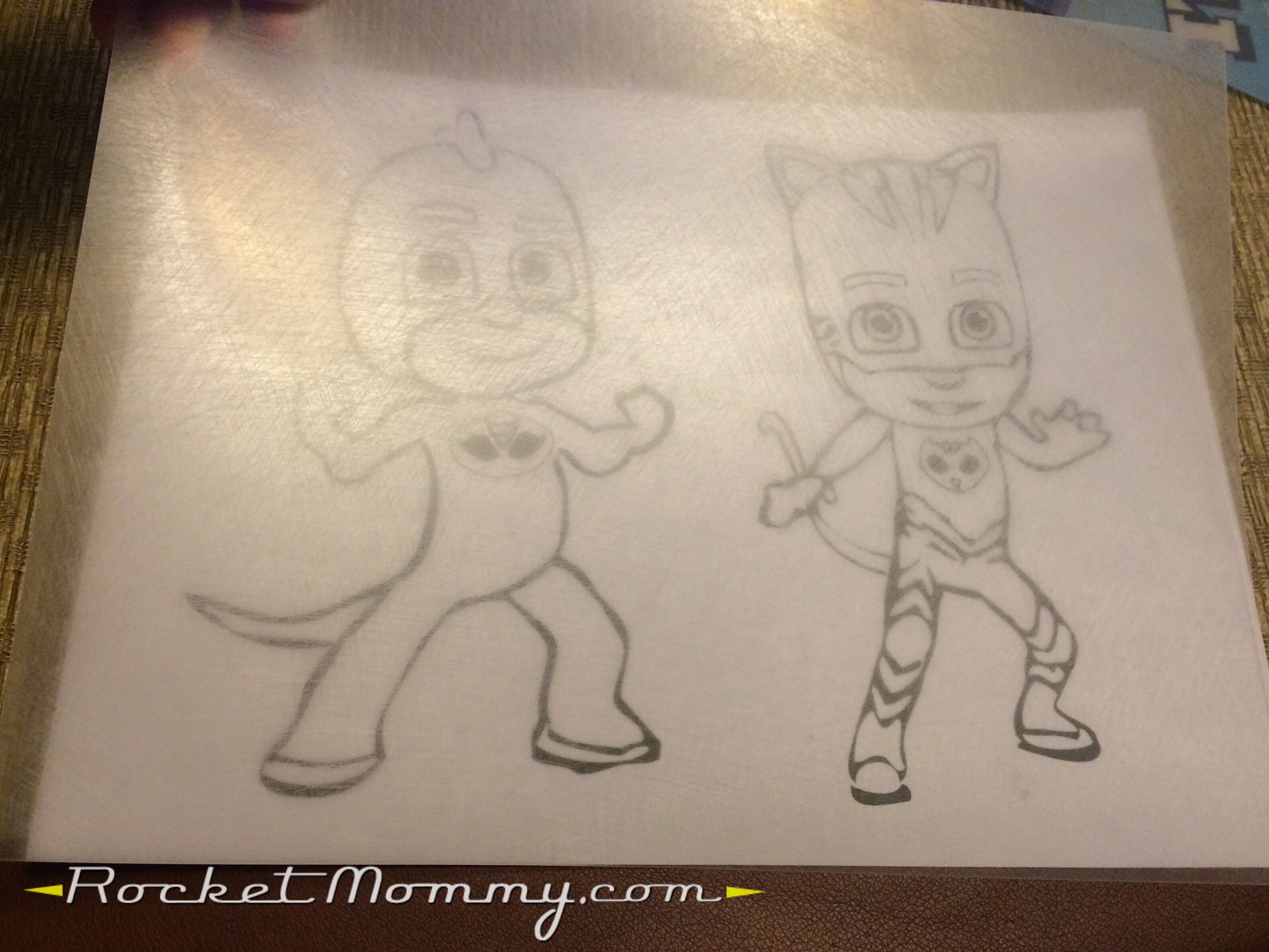 Coloring pages pj masks