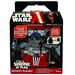 star wars shrinky dink set